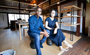 Analogue Life owners Ian Orgias and Mitsue Iwakoshi