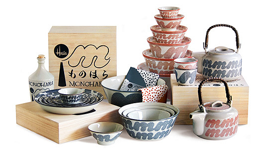 Monohara Ceramic Collection by House Industries