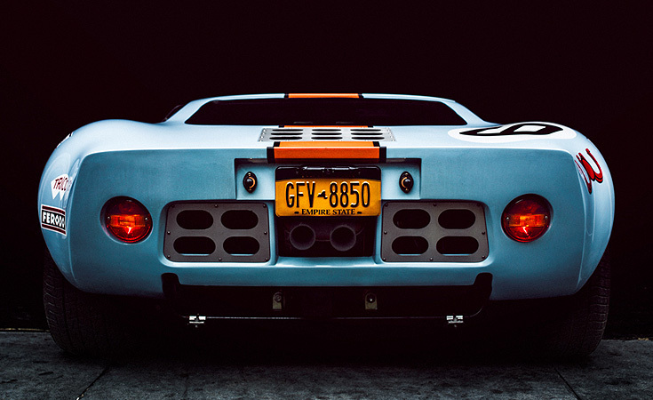 The 1966 design is as relevant today as it was then. Ford released the Ford GT based on this design in 2004.