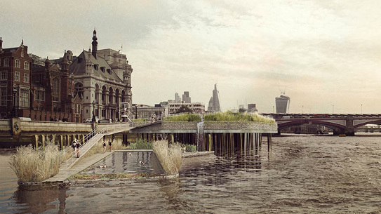 Thames Baths Project by Studio Octopi