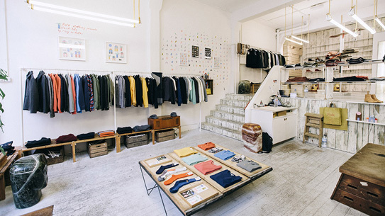 Folk is one of the shops featured in Cereal magazine's Guided.