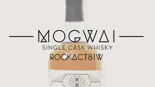 Mogwai's Scotch whiskey, ROCKACT81W