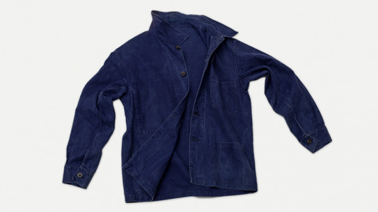 French Industrial Work Jacket from 1940