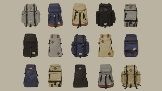 hobo presents PROJECT TRUCK - a collection of backpacks