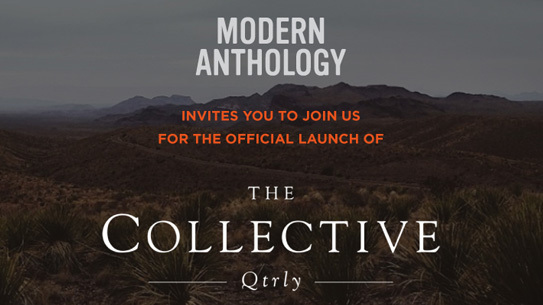 The Collective Quarterly launch at Modern Anthology.