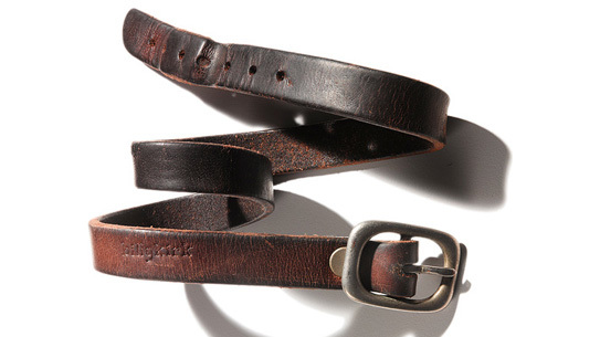 A well-worn Billykirk belt