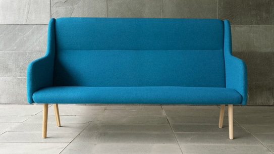 Anyway Sofa designed by Stockholm's Massproduction.