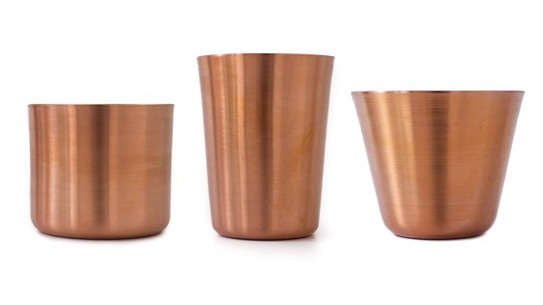 Makr's Tumblers come in three different sizes.
